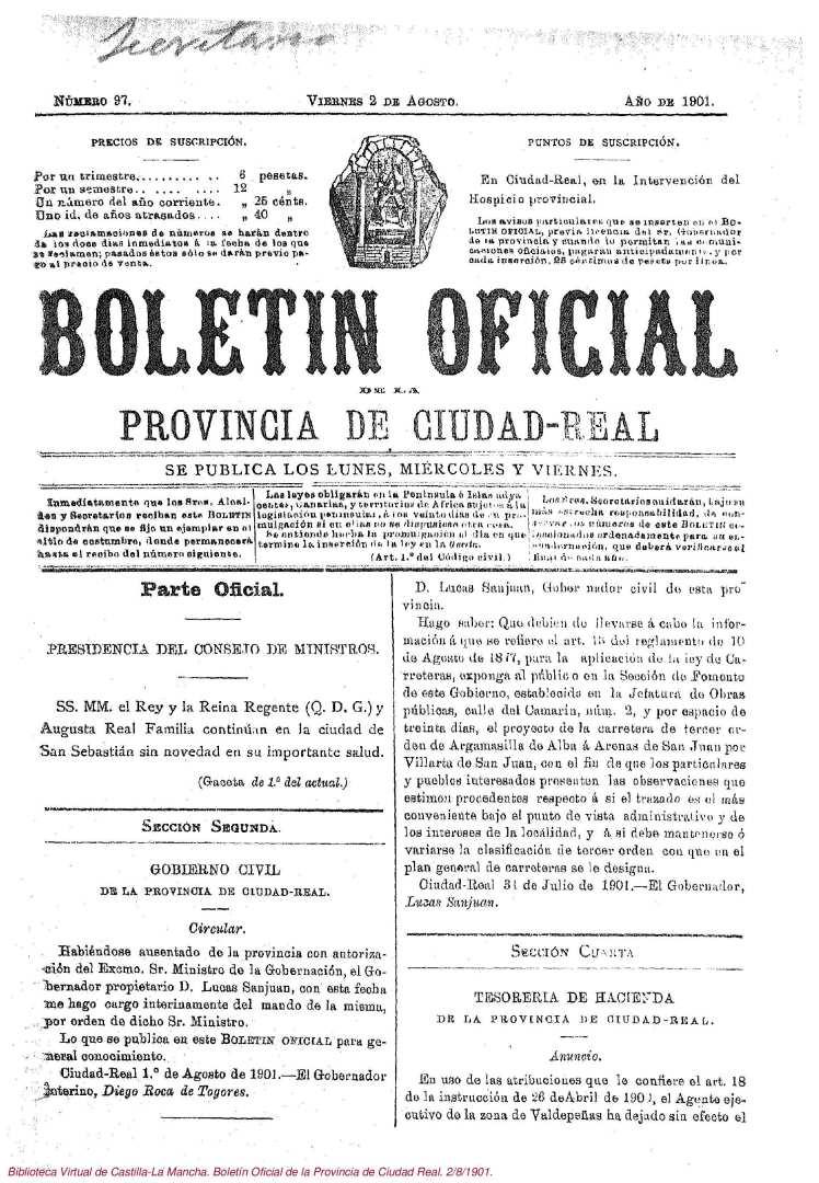 Carretera de Arenas Boletín-Oficial-de-la-Provincia-de-Ciudad-Real-2-8-1901-1.jpg