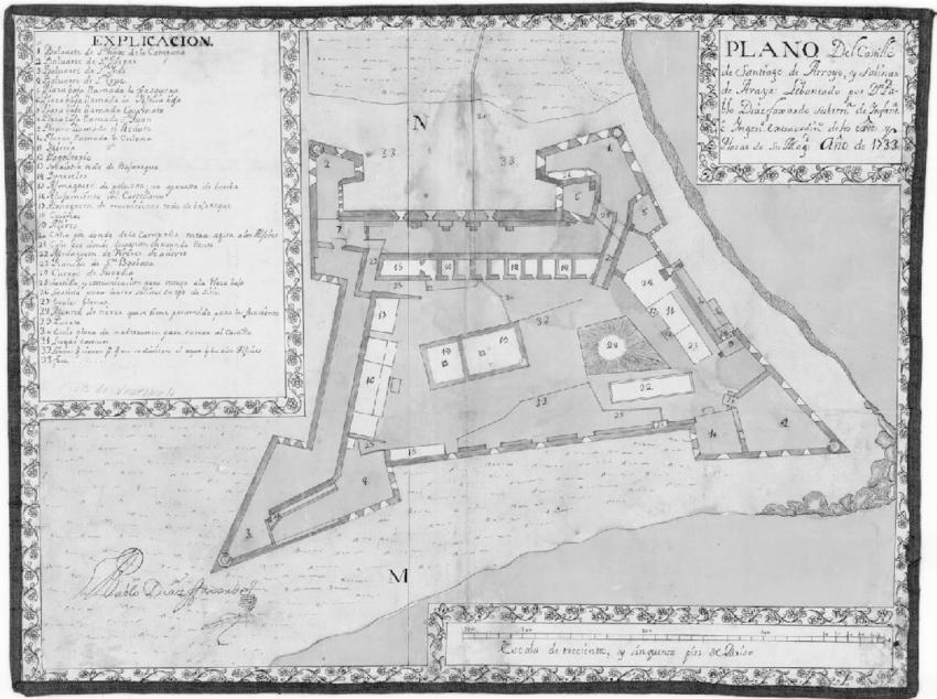 Figura-5-Plano-del-Castillo-de-Santiago-de-Arroyo-y-salinas-de-Araya-1733-38-LOS.png