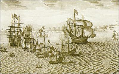 Guerra del azucar (armadas de España y la compañia de Nº18