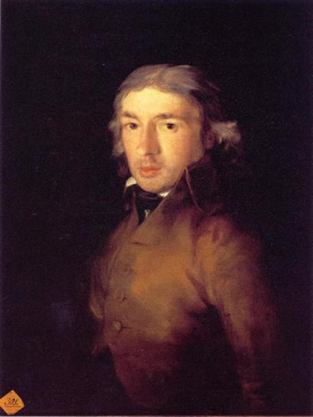 retrato-leandro-fernandez-moratin. FRancisco de Goya jpg