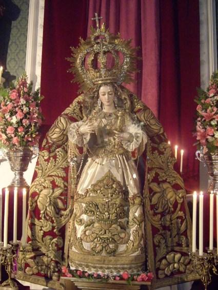 Resultado de imagen de nuestra señora de la paz Malaga